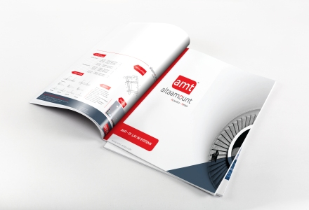 Product catalog design for Altaamount